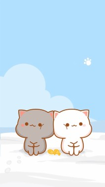 210 2105208 wallpaper kucing kartun