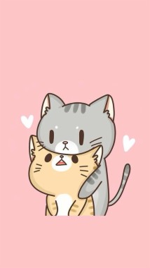 210 2105494 wallpaper kucing kartun