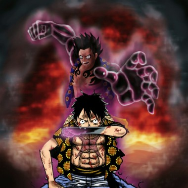 Luffy Gear 4 Wallpaper 1280x1280 Download Hd Wallpaper Wallpapertip