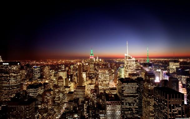New York City At Night Wallpaper Full Hd 5120x3200 5120x3200 Download Hd Wallpaper Wallpapertip