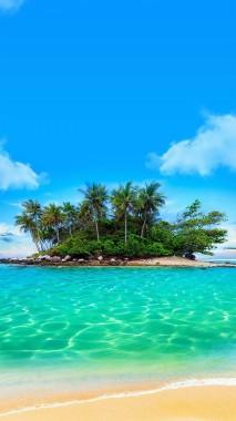 Beach Island Wallpaper Phone Wallpapers Beautiful Beaches 1080x1920 Download Hd Wallpaper Wallpapertip