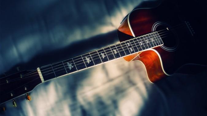 Acoustic Guitar Wallpapers Hd Wallpaper Acoustic Gitarre 1920x1080 Download Hd Wallpaper Wallpapertip