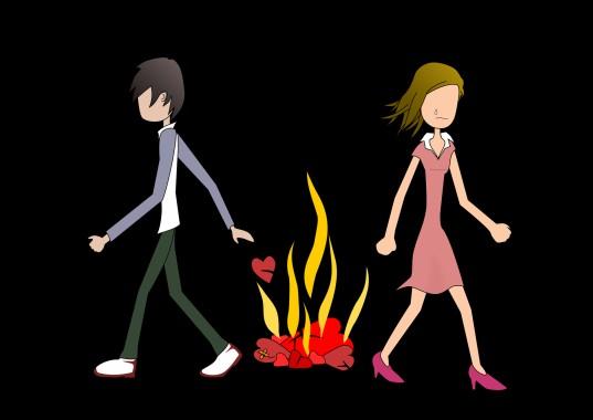 Hd Cute Anime Couple Wallpaper Sad Couple Pic Cartoon 620x465