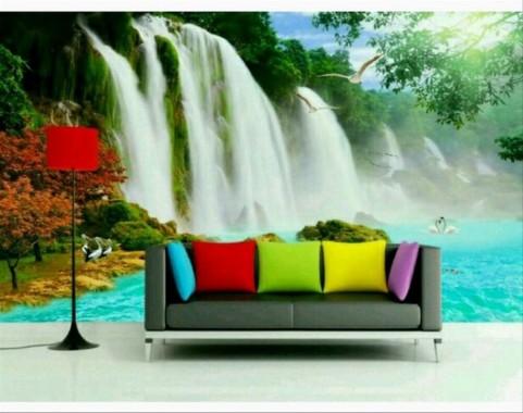 27 271696 jual new wallpaper dinding pemandangan alam 3d harga