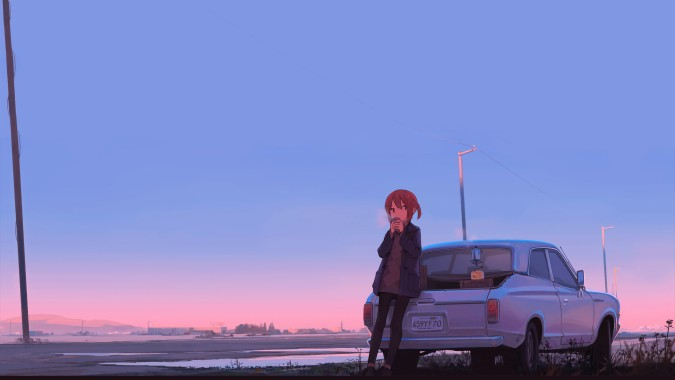 28 283730 chill backgrounds anime