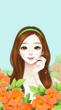 Lucu Wallpaper Kartun Korea 640x1136 Download Hd Wallpaper Wallpapertip