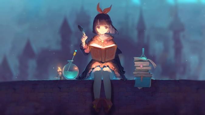 anime wallpaper hd blue anime aesthetic pc