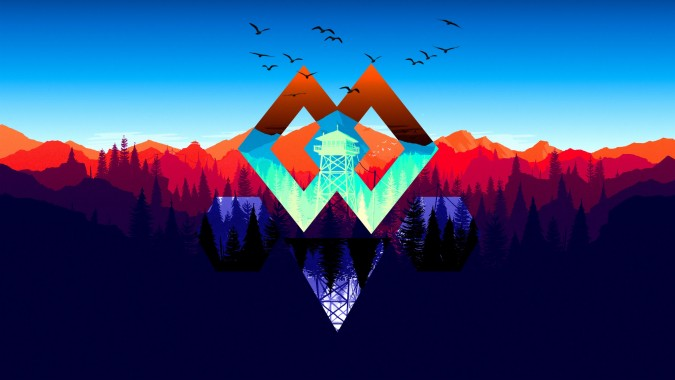 3 33033 50 firewatch hd wallpapers abstract gaming background 4k