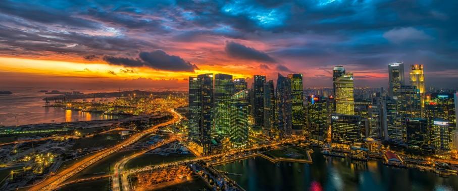 Glowing Singapore 219 Wallpaper Ultrawide Monitor 219 Philadelphia 3440 X 1440 3440x1440 Download Hd Wallpaper Wallpapertip