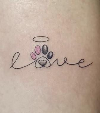 Love Dog Tattoo 440x495 Download Hd Wallpaper Wallpapertip