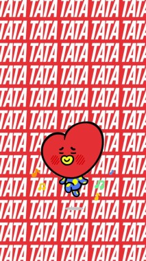 36 365728 rj and tata wallpaper bt21