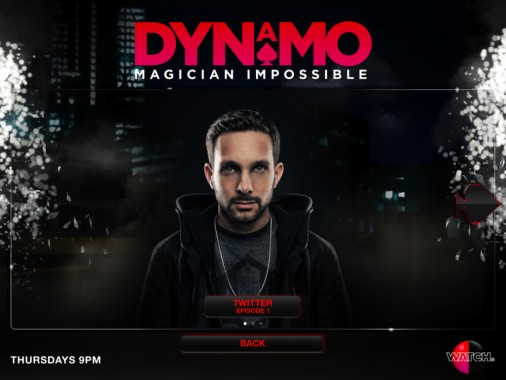 TV magician Steven 'Dynamo' Frayne signs 'Nothing is ... |Dynamo Magician Impossible Logo