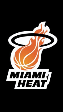 Free Download Nba Miami Heat Hd Iphone 5 Wallpapers Miami Heat Logo 640x1136 Download Hd Wallpaper Wallpapertip