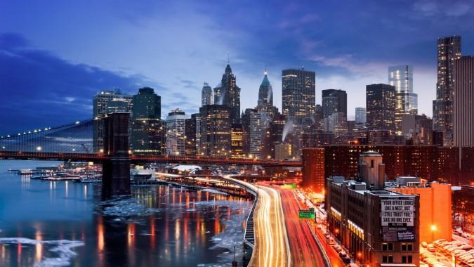 New York City Wallpaper Night Hd 1920x1080 Download Hd Wallpaper Wallpapertip