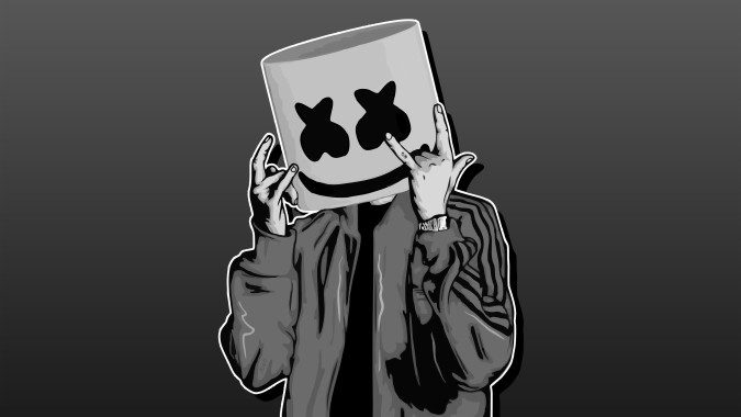 Marshmello 8k Wallpaper Dj Marshmello 1368x855 Download Hd Wallpaper Wallpapertip
