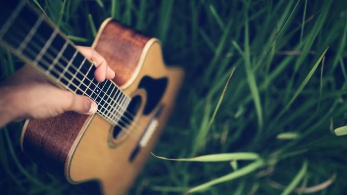High Definition Acoustic Guitar 1600x1000 Download Hd Wallpaper Wallpapertip