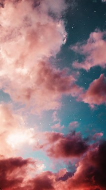 4 48863 aesthetic pink and clouds image aesthetic cloud wallpaper