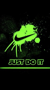 Nike Just Do It Green - 640x1136