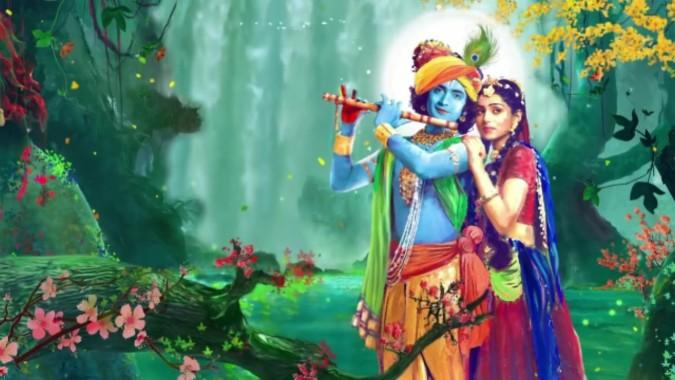 radha krishna little krishna 736x414 download hd wallpaper wallpapertip radha krishna little krishna 736x414