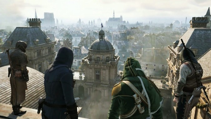 Assassin Creed Unity Background On Wallpaper Hd 1920 Assassins