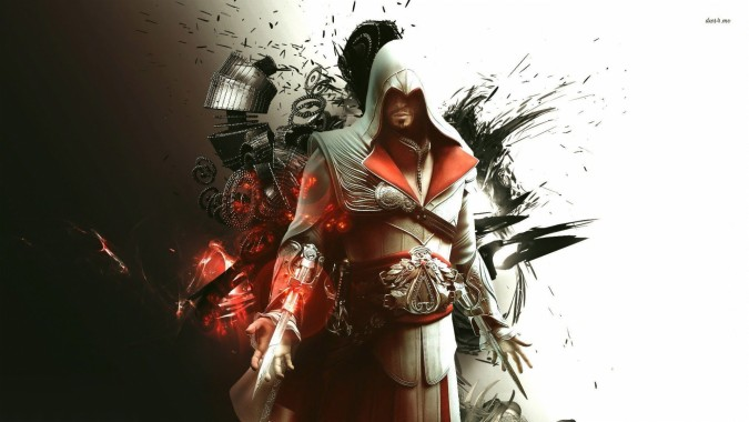 Ezio Assassins Creed Backgrounds 1920x1200 Download Hd
