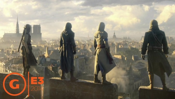 Assassin S Creed Unity Wallpaper 4k 1024x576 Download Hd