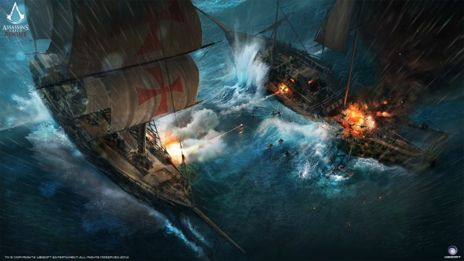 Assassin Creed Rogue Templar Ship Concept Art 1920x1080 Download Hd Wallpaper Wallpapertip