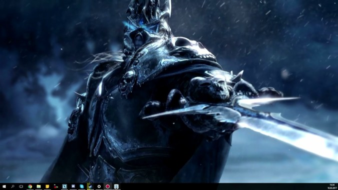 World Of Warcraft Lich King Wallpaper 4k 1280x720 Download Hd