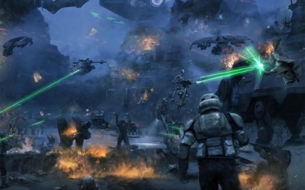 823426 Title Movie Star Wars Stormtrooper Battle 1920x1096 Download Hd Wallpaper Wallpapertip