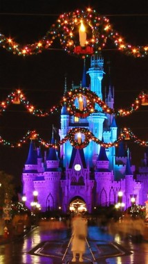 42 420922 disney christmas iphone 5 wallpaper road disney fortress