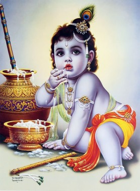Baby Krishna 549x750 Download Hd Wallpaper Wallpapertip