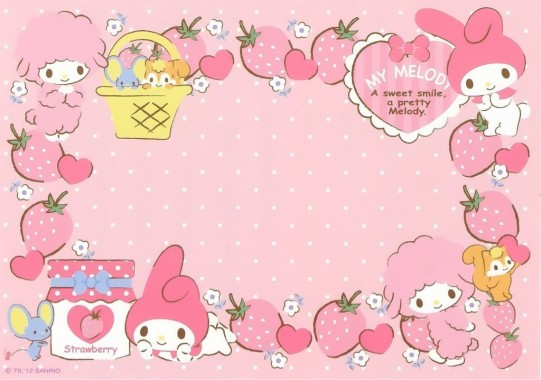 My Melody Wallpapers Free My Melody Wallpaper Download Wallpapertip
