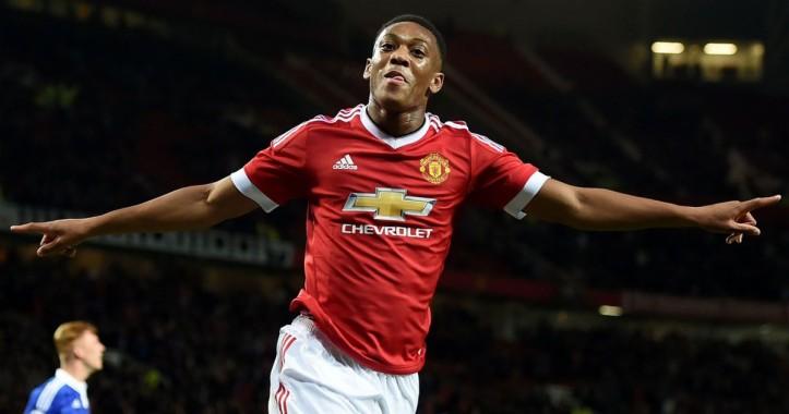 Manchester United, 4k, Anthony Martial, Premier League