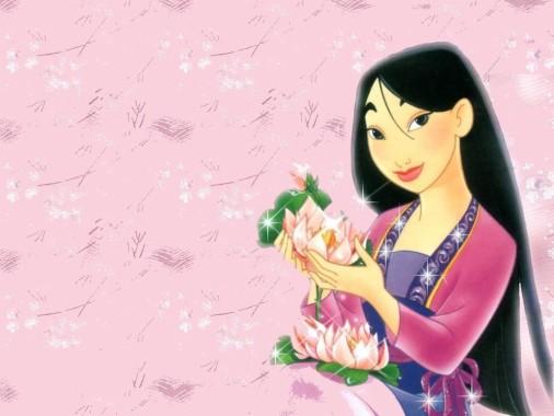 Mulan Con Pelo Largo 1024x768 Download Hd Wallpaper Wallpapertip