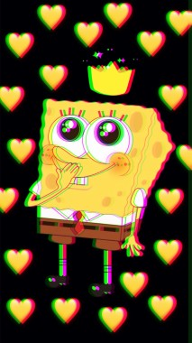 Spongebob Iphone Wallpaper Spongebob Design 1080x1920 Download Hd Wallpaper Wallpapertip