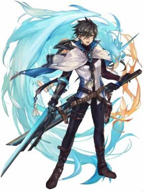 Anime Boy Swords Magical Creature Anime Boy With Sword 650x877 Download Hd Wallpaper Wallpapertip