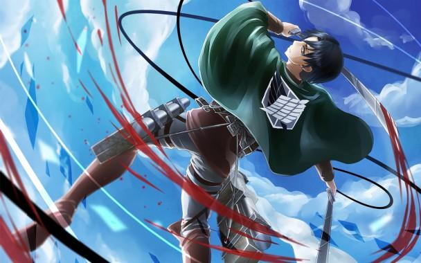 Levi Attack On Titan Shingeki No Kyojin Anime Hd Wallpaper Attack On Titan Wallpaper Captain Levi 1600x1000 Download Hd Wallpaper Wallpapertip