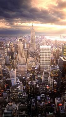 Iphone X New York 750x1334 Download Hd Wallpaper Wallpapertip