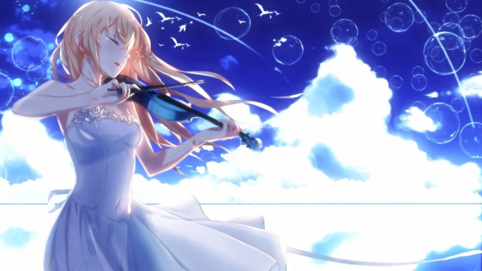 789994 Title Anime Your Lie In April Kaori Miyazono Your Lie In April Backgrounds 1920x1080 Download Hd Wallpaper Wallpapertip