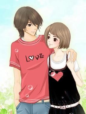 Cute Love Cartoon Wallpaper True Love Boy Girl Ladka Sweet Couple Wallpaper Love 750x997 Download Hd Wallpaper