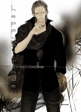 Anime Mckago One Piece Sir Crocodile Hook Cigar Crocodile 550x763 Download Hd Wallpaper Wallpapertip