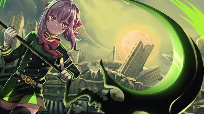 Green Anime Wallpaper 1920x1080 Download Hd Wallpaper Wallpapertip