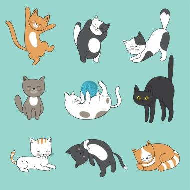 63 631697 kartun kucing cute cat tail drawing