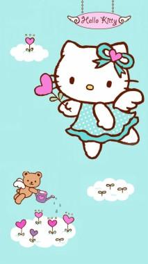 Download Wallpaper Hello Kitty Bergerak Untuk Hp Hello Kitty In Arabic 728x1294 Download Hd Wallpaper Wallpapertip