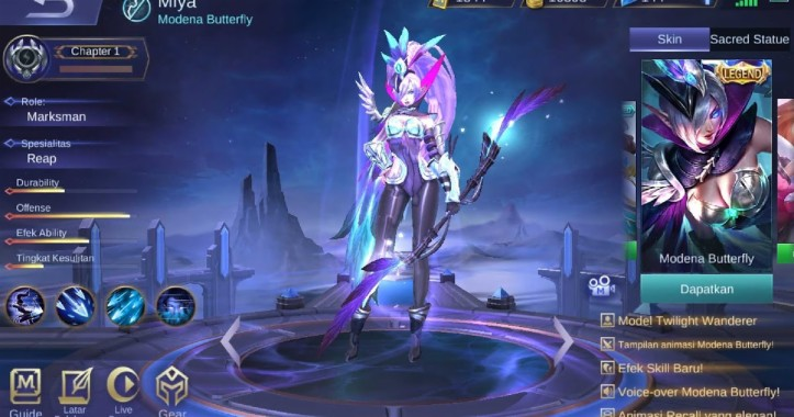 63 639463 x borg mobile legends