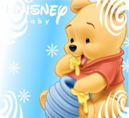 Baby Pooh And Friends Baby Winnie The Pooh Drawing 580x530 Download Hd Wallpaper Wallpapertip