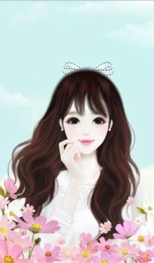 64 642976 cute korean anime girl