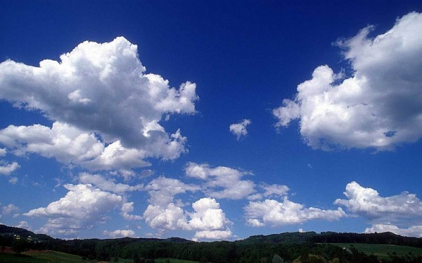 Foto Langit, Gambar Awan - Sunny Sky Background Hd ...
