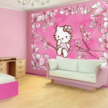 Desain Kamar Tidur Keren Hello Kitty Berita Banyuwangi Hello Kitty Wall Design 1000x1000 Download Hd Wallpaper Wallpapertip