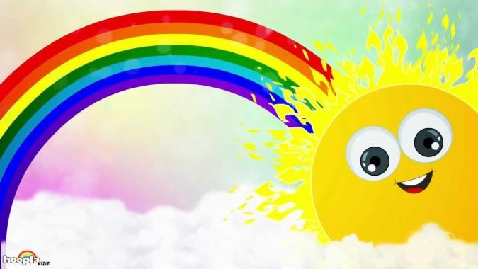 Gambar Pelangi Indah - High Resolution Disco Background ...
